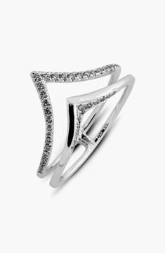 Bony Levy Women's Prism Chevron Diamond Ring (Limited Edition) (Nordstrom Exclusive)