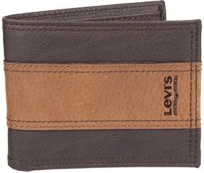 Levi's Levis Men's RFID-Blocking Extra Capacity Traveler Wallet