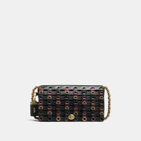COACH Coach Dinky With Link - BRASS/BLACK MULTI - STYLE