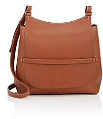 The Row Women's Sideby Leather Shoulder Bag-Camel