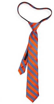 Nordstrom Boy's Stripe Silk Zip Tie