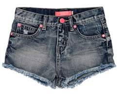 Seafolly Blue Shorts Children Pivot Denim Cutoffs.