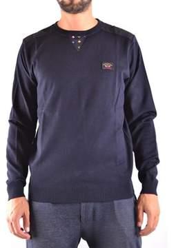 Paul & Shark Men's Blue Wool Sweater.