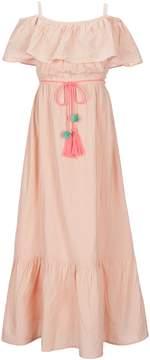 Jessica Simpson Big Girls 7-16 Palm Maxi Dress