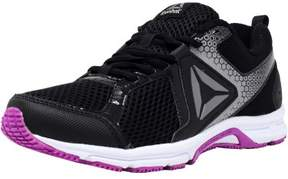 Reebok Women's Runner 2.0 Mt Black / Vicious Violet Pewter Ankle-High Running Shoe - 7.5M