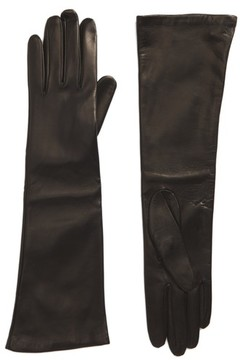 Max Mara Women's Long Leather Gloves