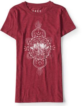 Aeropostale Free State Lotus Blossom Graphic T***