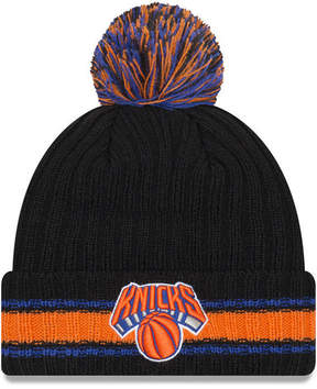 New Era New York Knicks Basic Chunky Pom Knit Hat