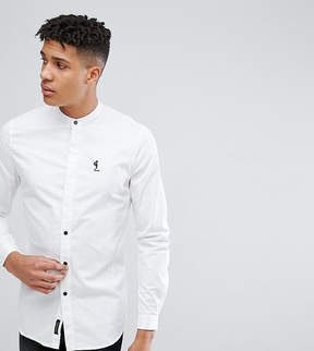 Religion TALL Shirt With Grandad Collar
