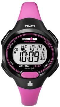 Timex Womens Ironman T5K525 10-Lap Pink Watch