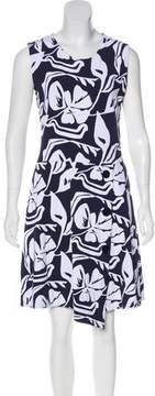 Christian Dior Patterned Knee-Length Dress