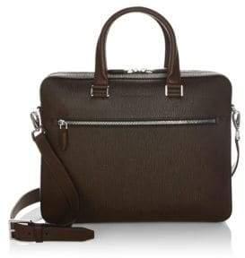 Salvatore Ferragamo Revival Leather Briefcase