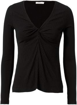 A.L.C. Madrew Ribbed Black Top