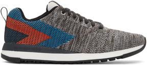 Paul Smith Grey Chevron Rappid Sneakers