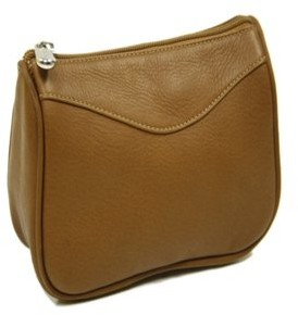 Piel Leather CARRY-ALL ZIP POUCH