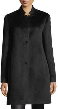 Eileen Fisher Drapey Suri Alpaca-Blend Long Coat