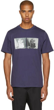 Oamc SSENSE Exclusive Purple S.O.S. Biggie T-Shirt