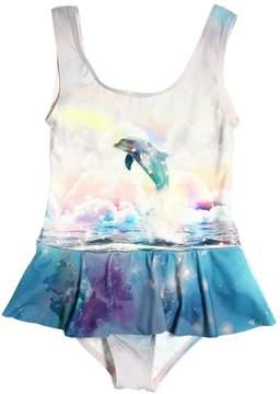 Stella McCartney Dolphin Print Lycra Bathing Suit
