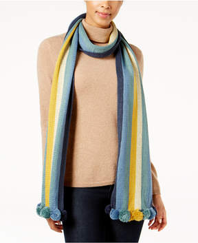 BCBGeneration Party Pom-Pom Scarf