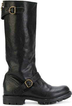 Fiorentini+Baker buckled boots