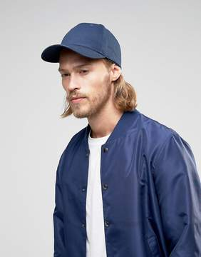 Asos Baseball Cap In Navy