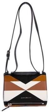 Givenchy Leather & Ponyhair Mini Pandora Box Bag