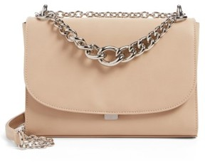 Chelsea28 Chace Faux Leather Shoulder Bag - Beige