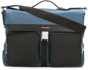 Dolce & Gabbana flap messenger bag