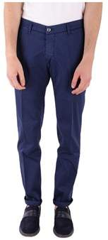 Re-Hash Men's Blue Cotton Pants.