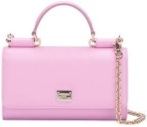 Dolce & Gabbana mini Von wallet crossbody bag