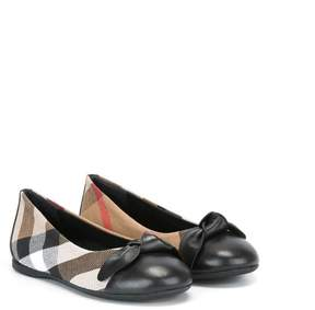 Burberry House Check ballerinas