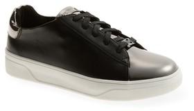 MICHAEL Michael Kors Girl's Nala Mae Metallic Sneaker