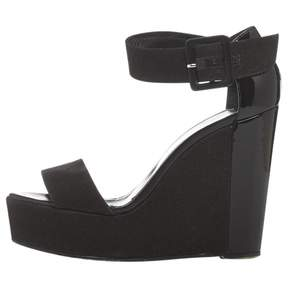Pierre Hardy Black Cloth Sandals