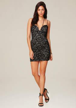 Bebe Nancy Lace Strappy Dress