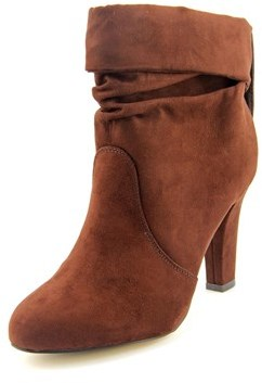 Thalia Sodi Lupe Round Toe Synthetic Ankle Boot.