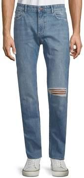 DL1961 Premium Denim Men's Distressed Cotton Jeans
