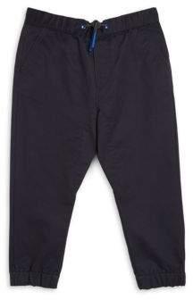 Armani Junior Little Boy's & Boy's Cotton Solid Trousers