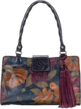 Patricia Nash Rienzo Smooth Leather Satchel
