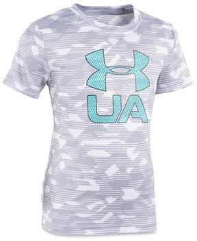 Under Armour Boys' Camo Logo Tee - Little Kid