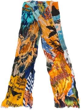 DSQUARED2 Hawaii printed scarf
