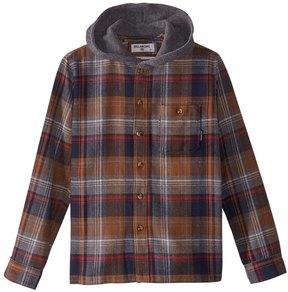 Billabong Boys' Long Sleeve Baja Flannel Shirt (Big Kid) 8167325