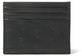 Ralph Lauren Embossed Leather Card Case Card Case Shield One Size