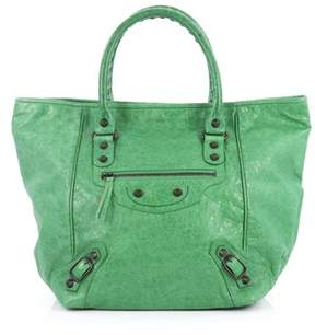 Balenciaga Pre-owned: Sunday Tote Classic Studs Leather Small.