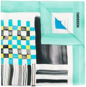 Missoni colour-block scarf