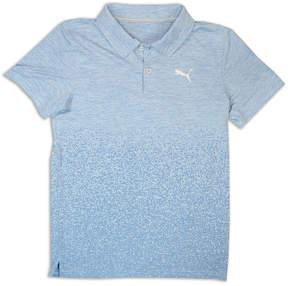 Puma Short Sleeve Jersey Polo- Big Kid Boys