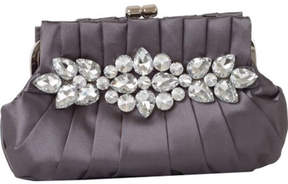 J. Furmani Women's 21206 Floral Satin Clutch