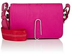 Off-White Women's Binder-Clip Mini Crossbody Bag - Pink