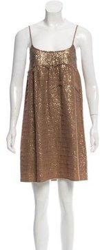 Chan Luu Sheer Sequin Dress