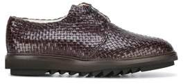 Dolce & Gabbana Dolce E Gabbana Men's Brown Leather Lace-up Shoes.