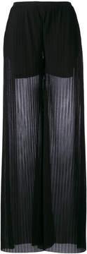 Emporio Armani wide leg trousers